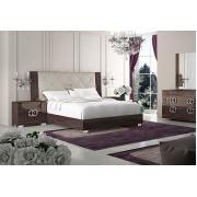 Кровать 154x203 люкс изголовье Beige Vermont Prestige арт. PRBUMLT01