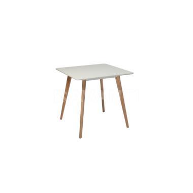 Стол обеденный Cubic (800x800x740) WHITE (белый)
