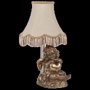 Настольная лампа Сердце Купидона ИК бронза арт. 32090 Б, 34007 Абажур №24-20