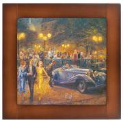 Репродукция картины Вечер на Монмартре арт. 71014 Орех(Д)